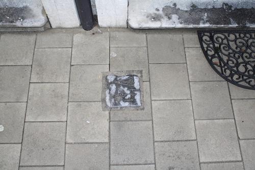 Antwerpen Sommestraat 71 grenssteen