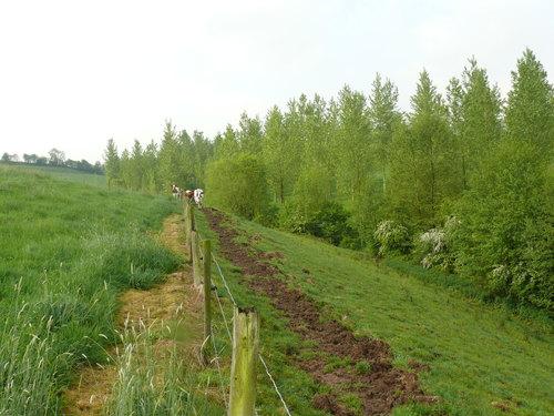 Voeren Middelhof houtkanten langs Remersdaalbeek en spaarvijvers watermolen van Obsinnich