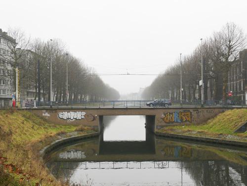 Gent Coupure Linden- en platanenrij