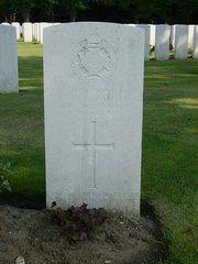 Sanctuary Wood Cemetery en gedenkteken voor Keith Rae
