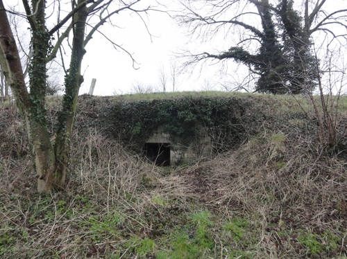 Hooglede Kortemarkstraat Duitse bunker