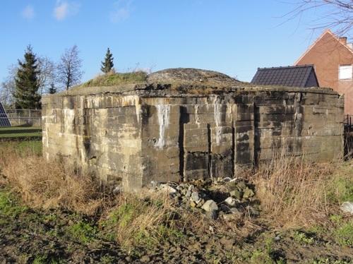 Moorslede Roeselaarsestraat zonder nummer Duitse bunker Vierkaven