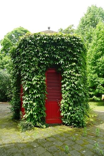 Sint-Niklaas Belsele Groenhof achthoekig paviljoentje toiletten