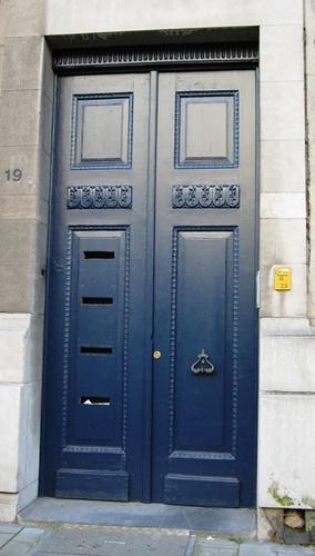 Antwerpen Van Breestraat 19 deur