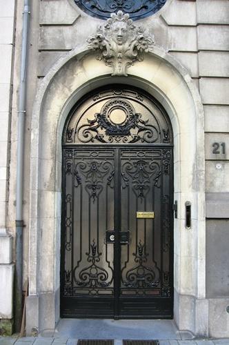 Antwerpen Van Breestraat 21 deur