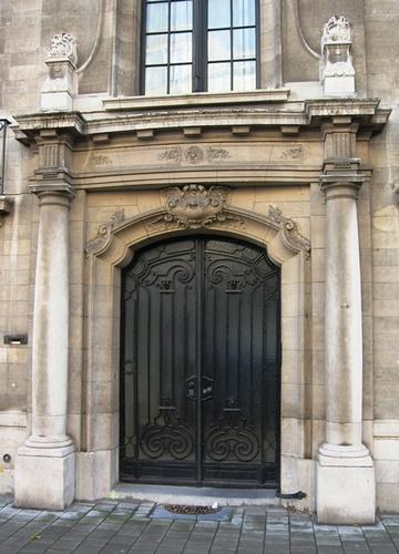 Antwerpen Van Breestraat 27-29 deur
