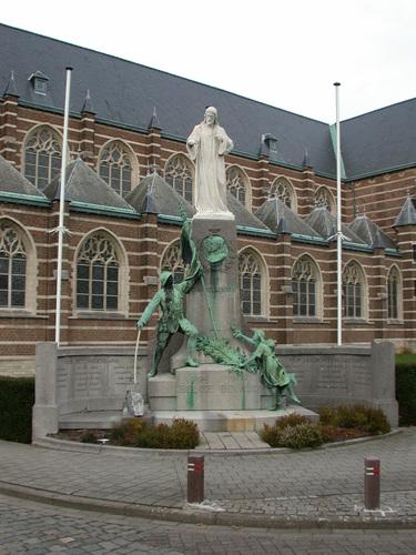 Boechout Sint-Bavoplein Oorlogsmonument
