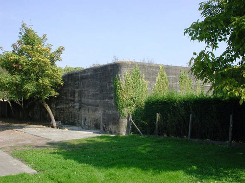 Diksmuide Gasthuisstraat 6 bunker