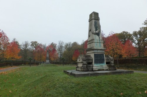 Antwerpen Reigershoek zonder nummer Franse oorlogsmonumenten