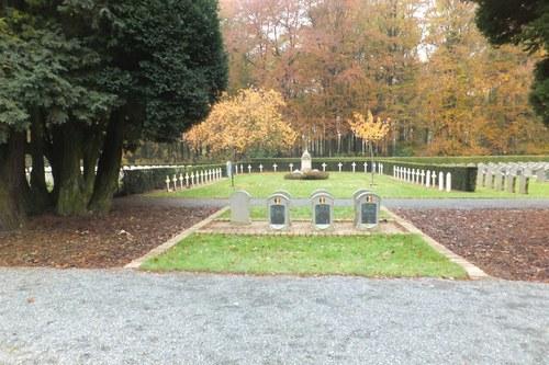 Antwerpen Reigershoek zonder nummer Perk 1 Franse gesneuvelden