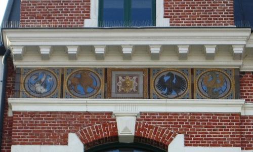 Antwerpen Verbindingsdok-Westkaai 12/1 tegelpanelen
