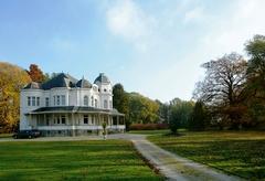 Park van het kasteel Leva