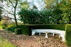 Tuin van de villa Boes