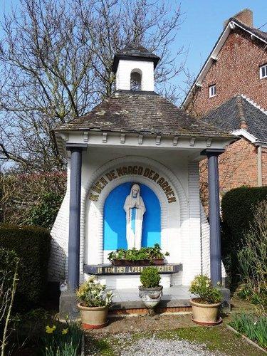 Borgloon Gotemstraat 56 Kapelletje bij pastorie