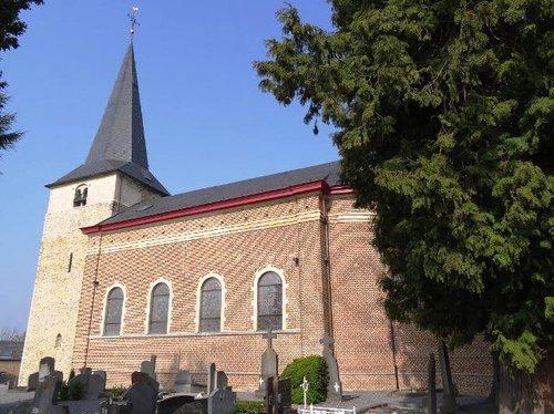 Borgloon Kuttekovenstraat zonder nummer Kerk Sint-Jan-de-Doper