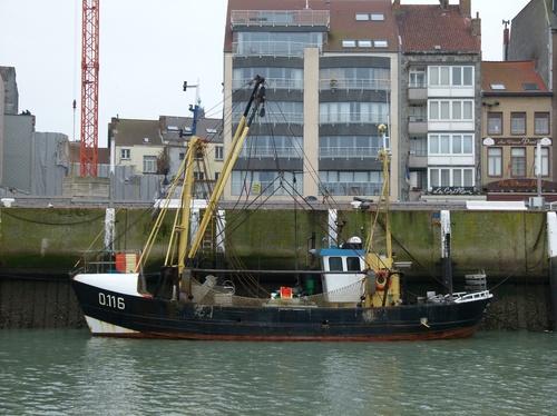 De O116 Caroline in Oostende
