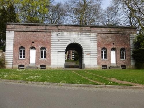 Gent Citadelpoort ingangspoort