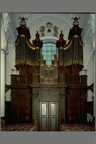 Zele Markt zonder nummer Sint-Ludgeruskerk interieur, orgel L.B. Van Peteghem