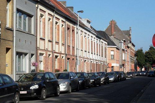 Mechelen Veldenstraat Serie arbeiderswoningen