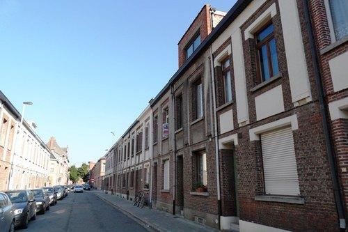 Mechelen Veldenstraat Arbeiderswoningen