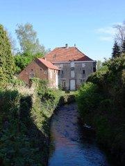 Watermolen en molenaarswoning