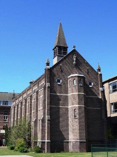 Overpelt Kloosterstraat 11-17 Kloosterkerk