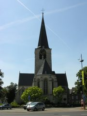 Zaventem Kerkplein Sint-Martinuskerk (https://id.erfgoed.net/afbeeldingen/202906)