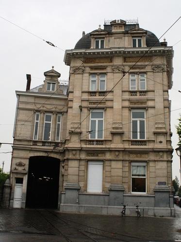 Antwerpen Grotehondstraat 58 voorgevel