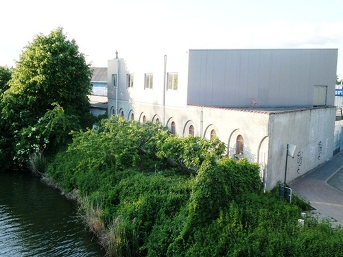 Mechelen Slachthuislaan Gelijkvloers is deel van oud slachthuis