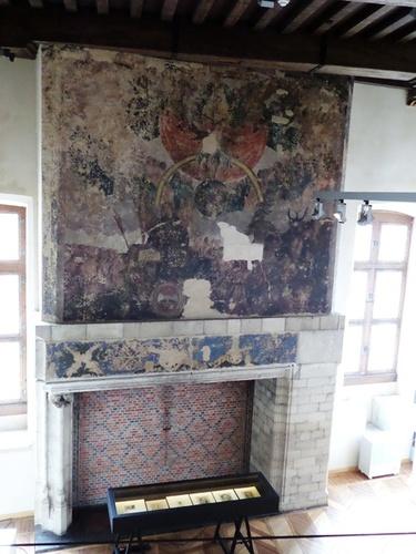 Mechelen Steenweg 1 interieur muurschildering