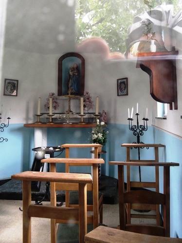 Diepenbeek Watertorenstraat zonder nummer Interieur van de kapel
