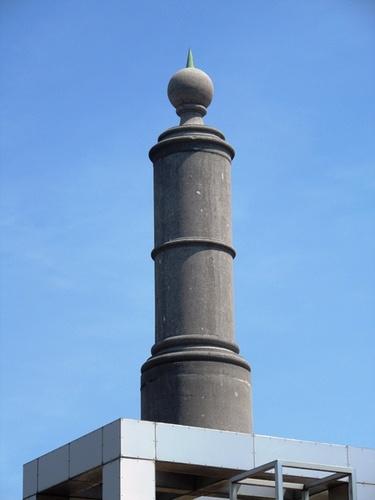 Mechelen Koning Albertplein Mijlpaal