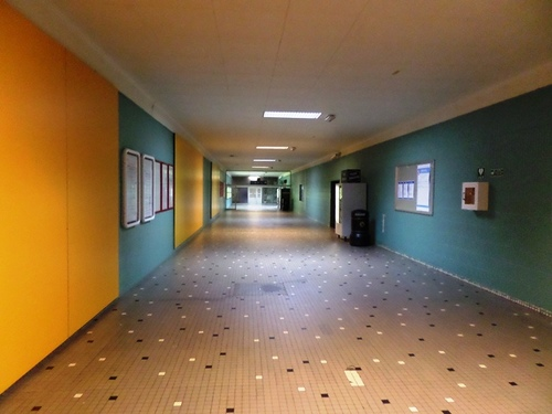Mechelen Koning Albertplein Station, interieur