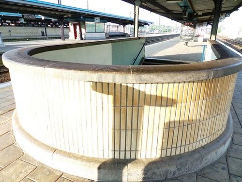 Mechelen Koning Albertplein Station, perron