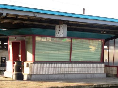 Mechelen Koning Albertplein Station wachthuisje