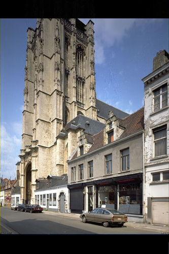 Antwerpen Sint-Jacobstraat Sint-Jacobkerk