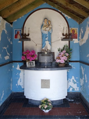 Heers Winningstraat 1 Interieur van de kapel