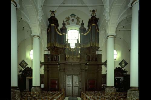 Zele Markt zonder nummer Sint-Ludgeruskerk orgel, algemeen aanzicht