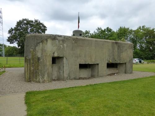 Lanaken bunker verbindingskanaal BN11