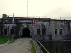 Bornem Barelstraat 228 Ingang van het fort (https://id.erfgoed.net/afbeeldingen/210749)