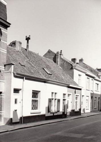 Gent Ledeberg Driesstraat 21-25 (anno 2014: huisnummers 23-27)
