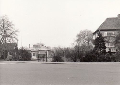 Villa ontworpen door Carl Brommer