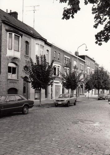 Gent Sint-Amandsberg Wolterslaan straatbeeld