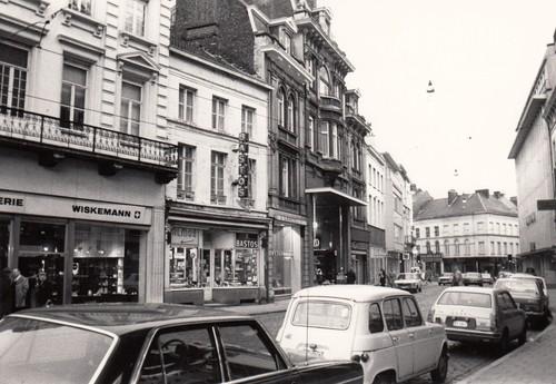 Gent Vogelmarkt straatbeeld