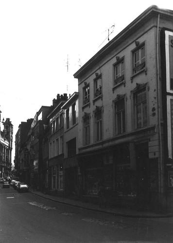 Gent Walpoortstraat straatbeeld