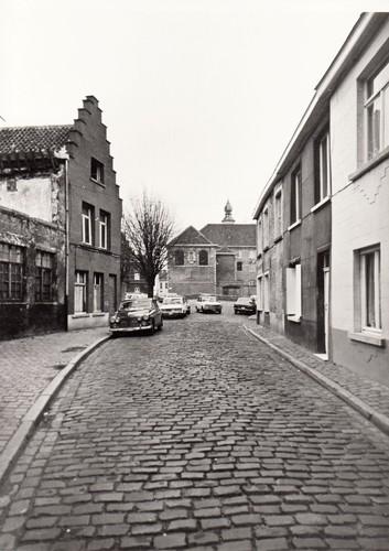 Gent Zilverhof straatbeeld