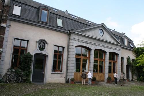 Antwerpen De Berlaimontstraat 17-19 koetshuis
