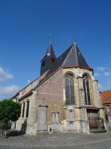 Lebbeke Dorp zonder nummer Zuidoostzijde van de kerk