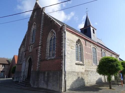 Lebbeke Dorp zonder nummer Westzijde van de kerk