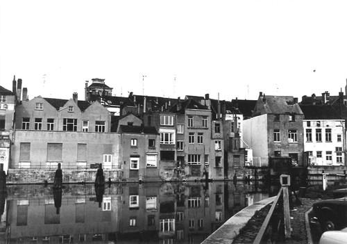 Gent Brabantdam achtergevels